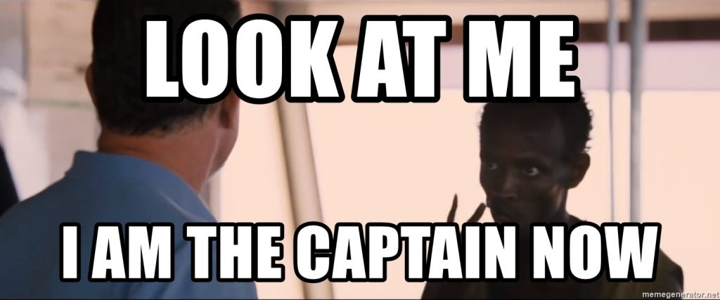 Captain Phillips Look at me I am the Captain Now scene
